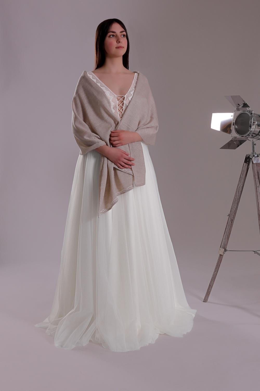 """Schantal Brautkleid aus der Kollektion """"Ni-Na"""", Modell 11002-2. Foto 1"""