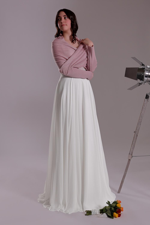 """Schantal Brautkleid aus der Kollektion """"Ni-Na"""", Modell 11003. Foto 4"""