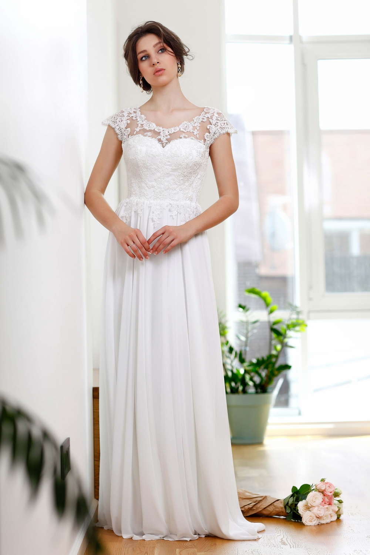 "Schantal Brautkleid aus der Kollektion ""Kiara"", Modell 1163. Foto 1"