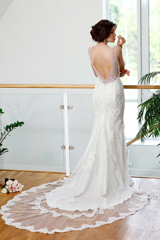 "Schantal Brautkleid aus der Kollektion ""Kiara"", Modell 1014 (Mit andere Ornament). Foto 1"