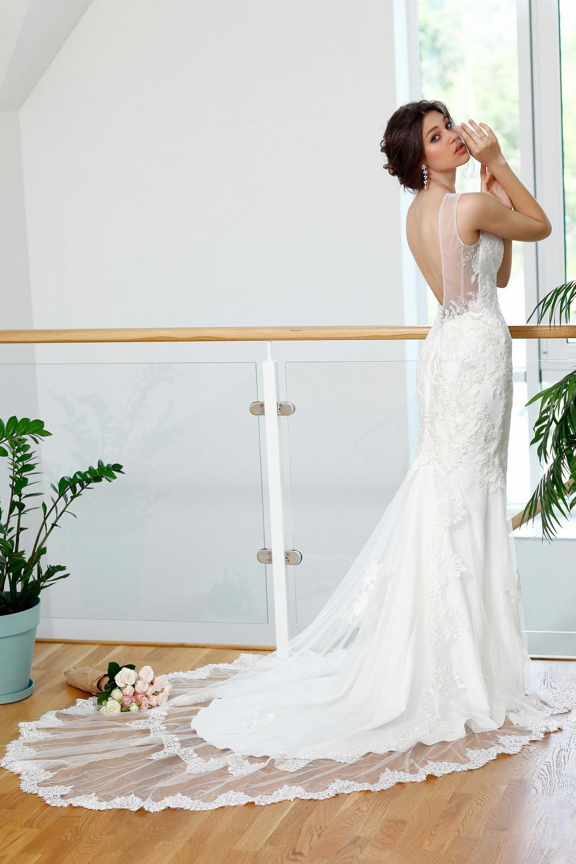 "Schantal Brautkleid aus der Kollektion ""Kiara"", Modell 1014 (Mit andere Ornament). Foto 3"