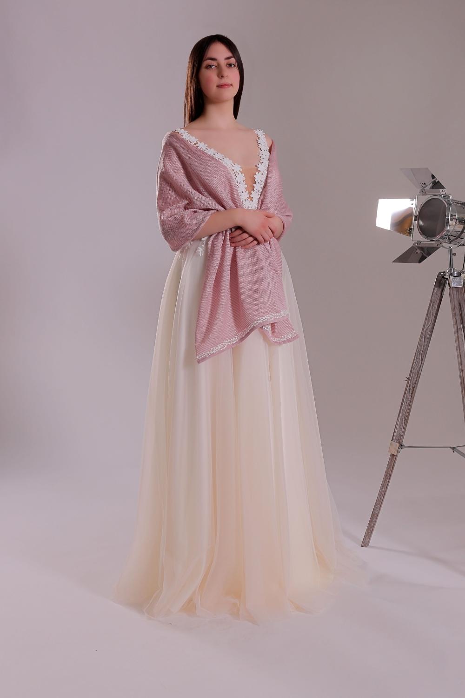 """Schantal Brautkleid aus der Kollektion """"Ni-Na"""", Modell 11002-2. Foto 2"""