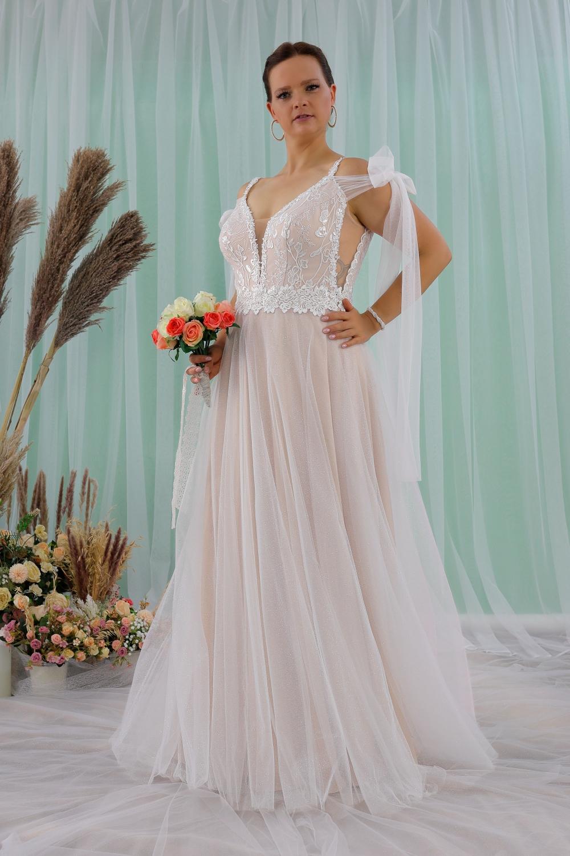 """Schantal Brautkleid aus der Kollektion """"Queen XXL"""", Modell 2311 XXL. Foto 3"""