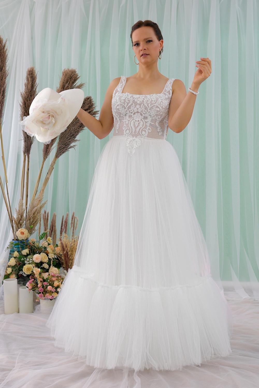 """Schantal Brautkleid aus der Kollektion """"Queen XXL"""", Modell 2312 XXL. Foto 1"""