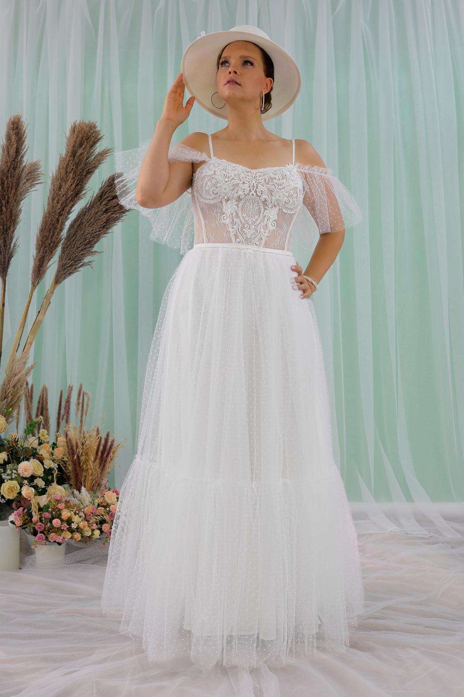 """Schantal Brautkleid aus der Kollektion """"Queen XXL"""", Modell 2316 XXL. Foto 1"""