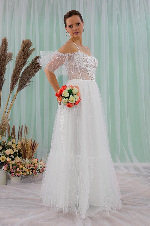 """Schantal Brautkleid aus der Kollektion """"Queen XXL"""", Modell 2316 XXL. Foto 4"""